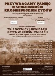 AFISZ Krośniewice społeczność żydowska