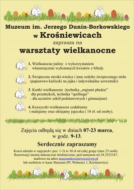 WarsztatyWielakanoce2016
