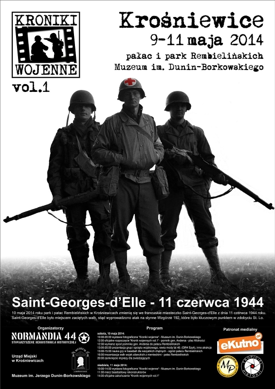 kroniki wojenne plakat
