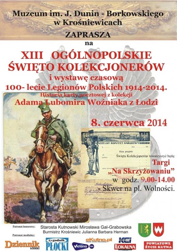 xiii ogolnopolskie swieto kolekcjonerow plakat